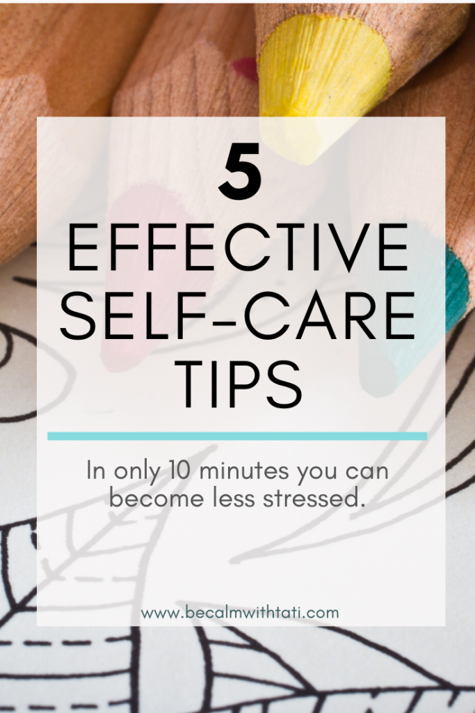 5 Effective Self-Care Tips