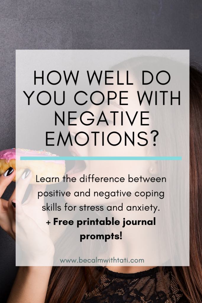 How Well Do You Cope With Negative Emotions?