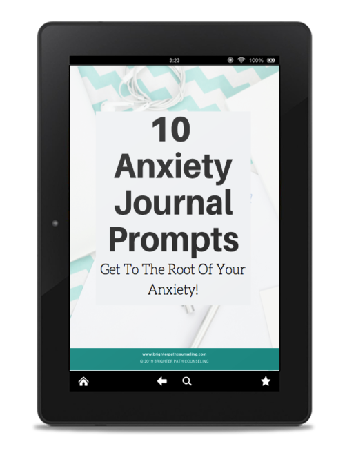 10 Anxiety Journal Prompts