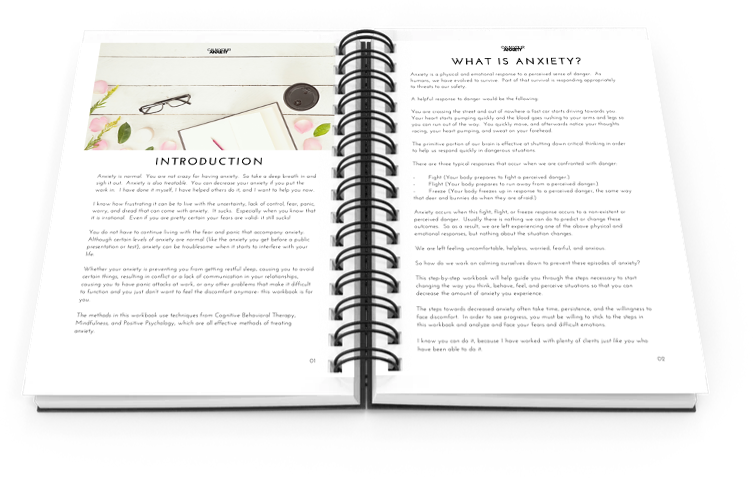 Calm Your Anxiety Workbook Free Preview