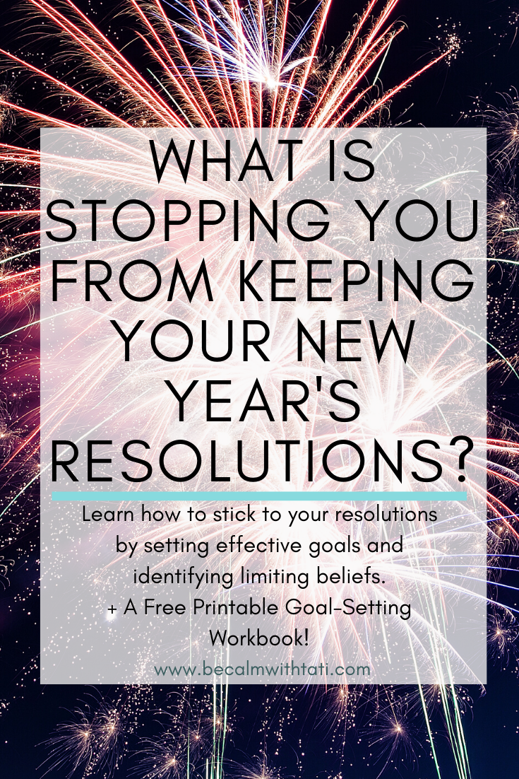 What Is Stopping You From Keeping Your New Year's Resolutions?