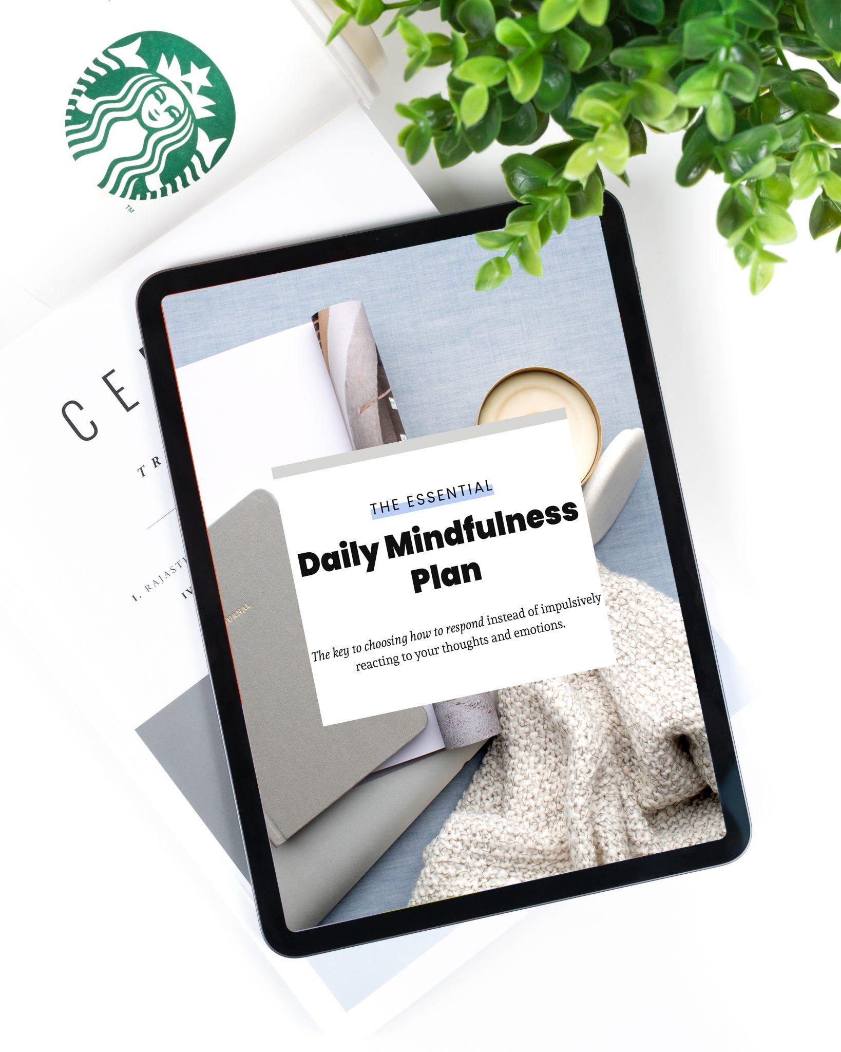 Daily Mindfulness Plan
