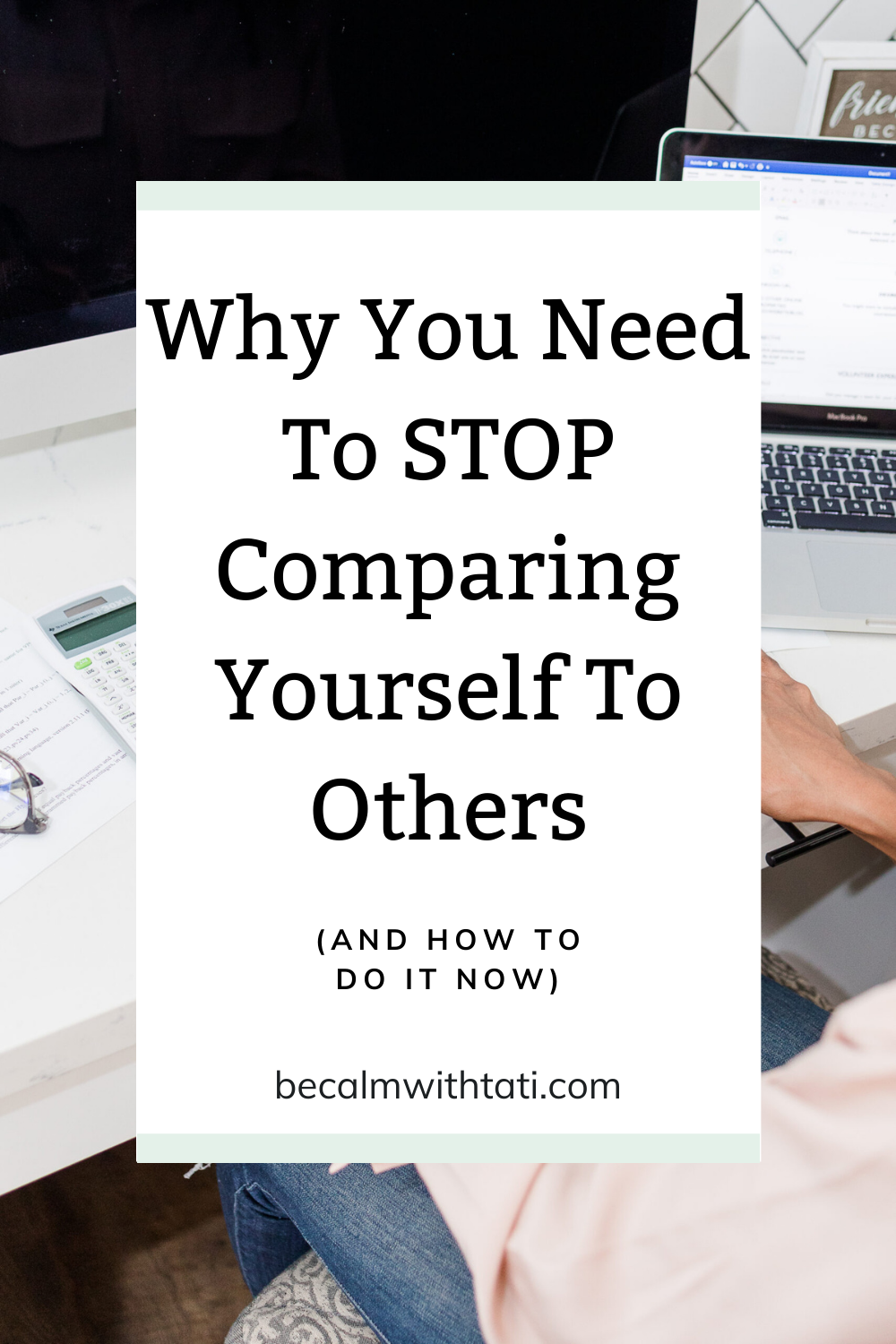 Why You Need To Stop Comparing Yourself To Others (And How To Do It NOW)
