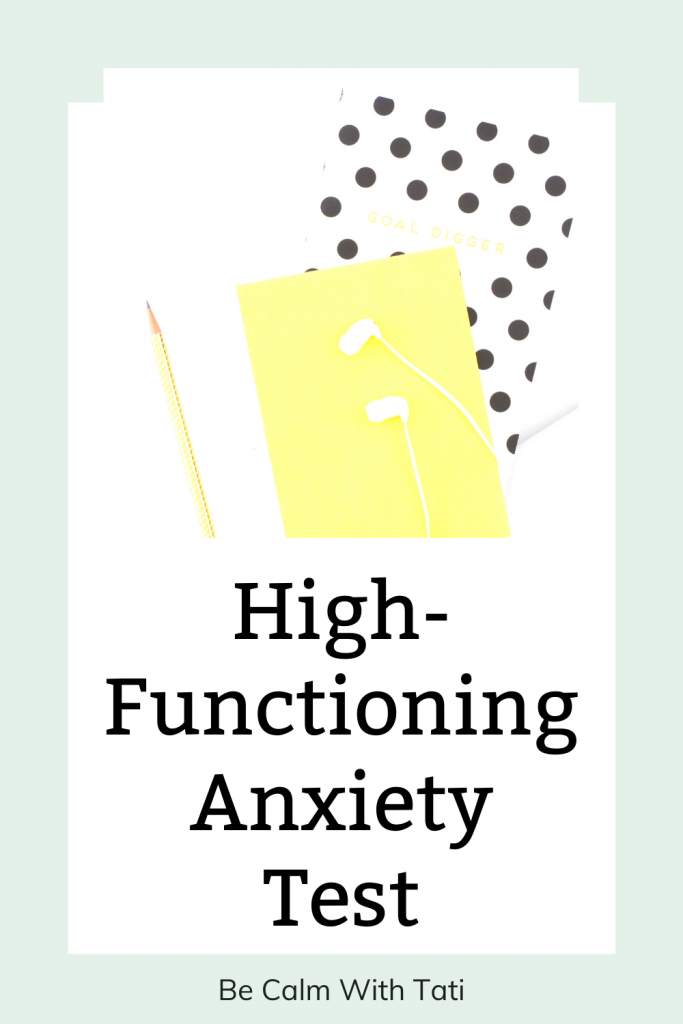 High-Functioning Anxiety Test