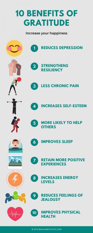10 benefits of gratitude