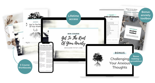 Get To The Root Of Your Anxiety Complete Mockup