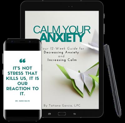 Calm Your Anxiety PDF Workbook